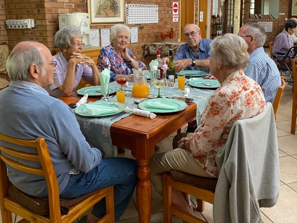 Christmas lunch at Macadamia Care in Tzaneen